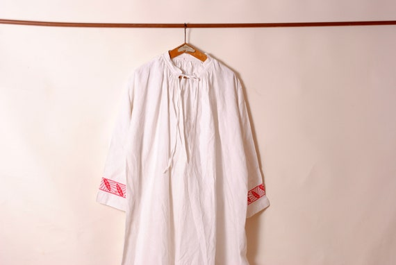 Rustique Français night shirt,Français Farmhouse,a