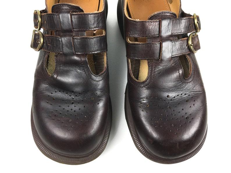 0762d4a3c89e Mens US8 Dr Martens England Docs Vintage Mary Jane Brown