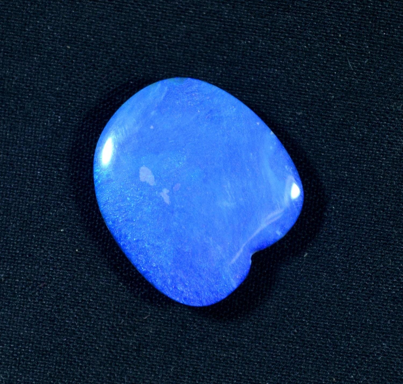 Super qualité opale Doublet Cabochon lisse 11,05 Cts. meilleurs Boulder opale australien opale Boulder Doublet 18 x 16 x 5 mm pierres précieuses en gros 5120f5