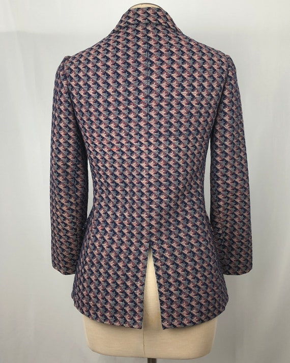 1960s Givenchy double-breasted jacket xs small 60… - image 4