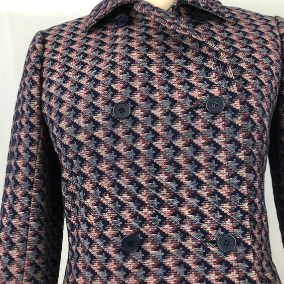 1960s Givenchy double-breasted jacket xs small 60… - image 2