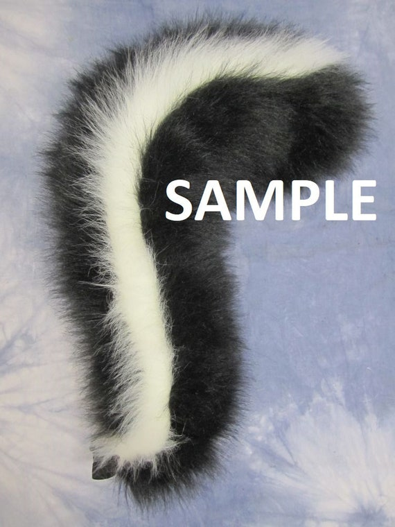 Skunk Tail Design Your Own Etsy