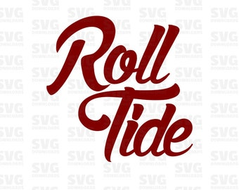 Roll Tide Svg Etsy