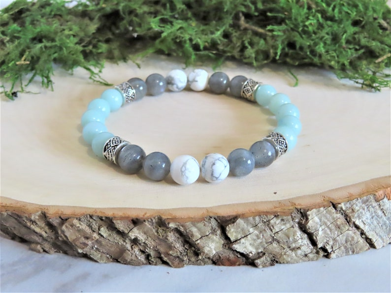Anxiety Relief Bracelet Crystal Healing Jewelry Crystals ...