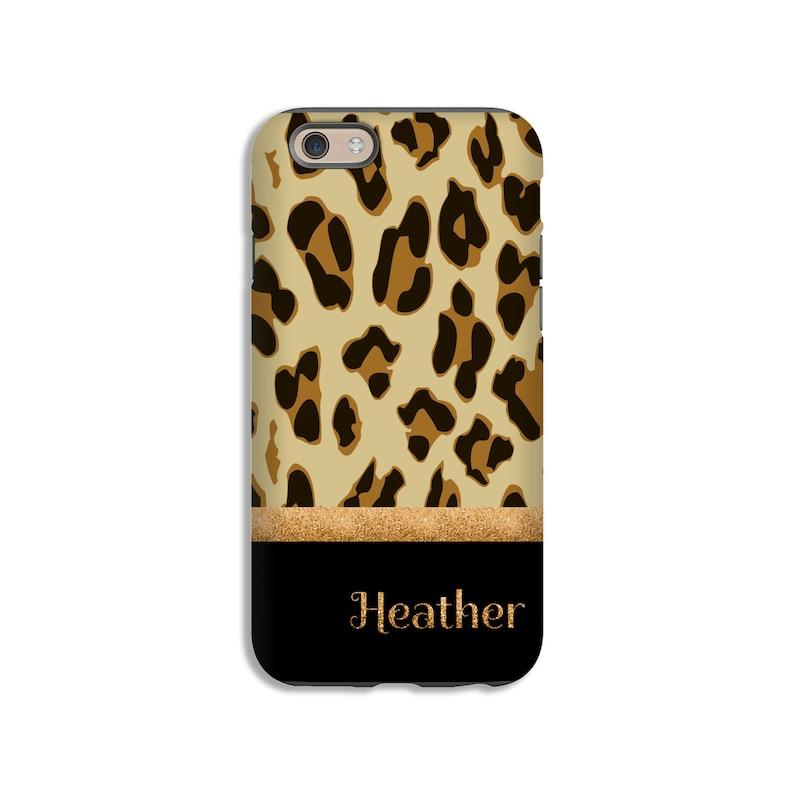 san francisco 669fb e0cb8 Leopard print iPhone 8 case/8 Plus case, iPhone 7 Plus case, iPhone 7 case,  animal print iPhone 6s case, 3D wrap around iPhone case