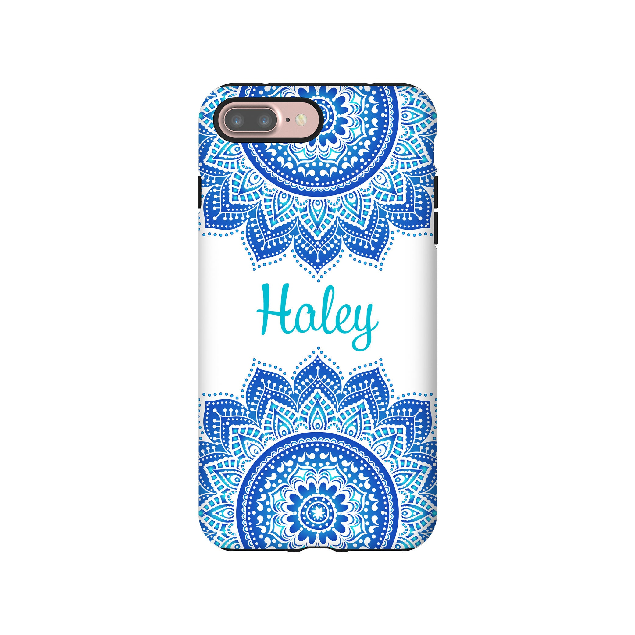 outlet store 040d5 554ce Mandala iPhone 8 Plus case, personalized iPhone 8 case, cute iPhone XS  cases, iPhone 7 Plus/7 case, 6s Plus case/6s case, personalized gift