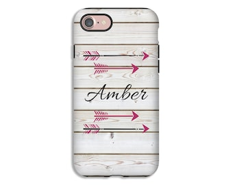 Personalized iPhone 8 case, arrows iPhone 8 Plus case, boho chic iPhone 7/7 Plus case, iPhone 6s//6s Plus/6/6 Plus cases, girls iPhone cases