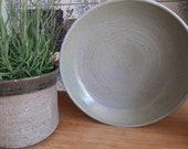 Green/blue ceramic dish w...