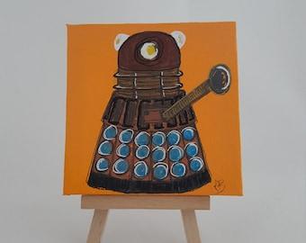 Mini Dalek.