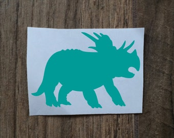 Brachia Dinosaur Decal Sticker / Yeti Brachia Decal / Dinosaur Monogram / Car Dino Decal / Brachia Dino Decal Sticker