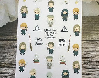 32 Harry Potter Planner Stickers