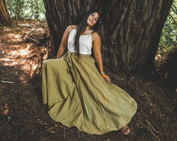 The Athena in OATSTRAW // Gauze Cotton Skirt // Light, Flowy, Playfully Elegant Skirt // You are a Gift!