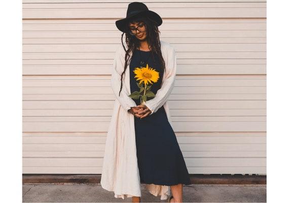 SALE! XS Tank Dress // 100% Gauze Cotton Tunic // Layering for Fall Days!