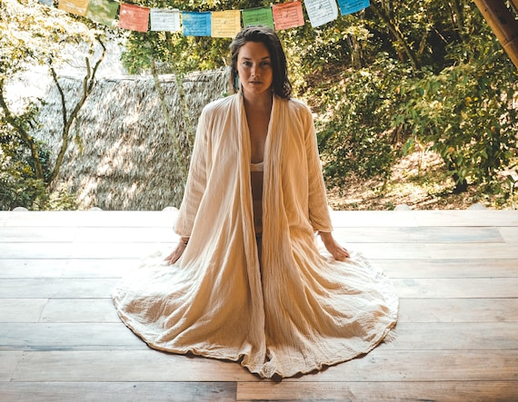 Cotton Cloak in CREME // Duster Jacket // Classic Robes for Radiant Hearts