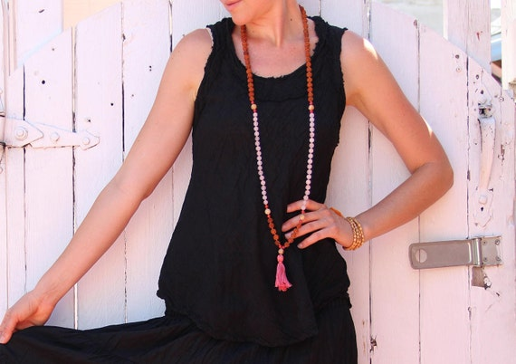 Gauze Tank in BLACK // Breathable, Weightless, Natural Fiber