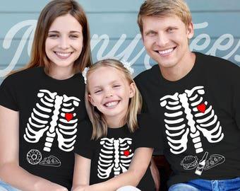 Halloween shirt skeleton shirt halloween family shirts halloween family costume halloween skeleton shirt halloween skeleton shirt outfit