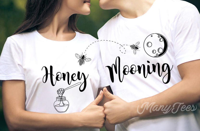5c13eba9 Honeymoon shirts couples shirts funny couples shirts wedding | Etsy