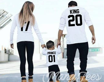 King queen sweatshirt king queen prince princess sweatshirts king and queen sweatshirts king sweater family outfit king and queen hoodie