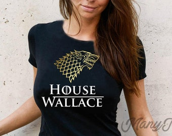 Game of thrones shirt game of thrones gift game of thrones t shirt house stark shirt game of thrones house stark sigl shirt thrones shirt