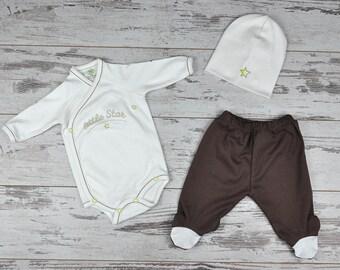 52ca04e76 Set de bebé orgánico personalizado
