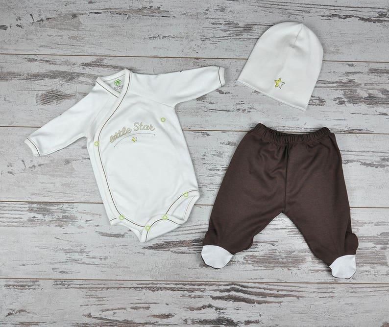 Custom Organic Baby Set Custom Print Gift Option Baby Take image 0