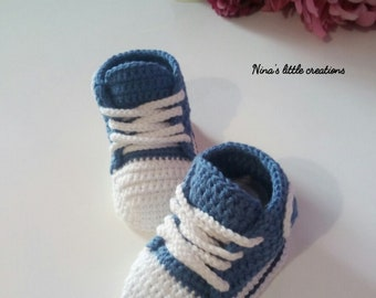 Newborn All Star sneakers/baby crochet All Star sneakers
