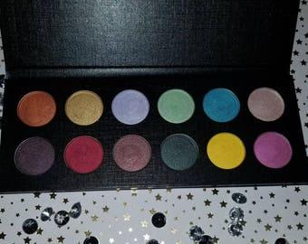 Shade Beauty, Bring Back The 90's Palette, Cruelty Free, Eyeshadow, Makeup, Colorful Eyeshadow, Neutral Eyeshadow, Cosmetics