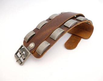 "Genuine Leather Wristband belt_ NAC6542005886/3324_ Accessories_ BELT_of 25 cm / 9,84"""