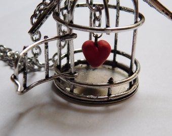 Handmade Cage Heart NECKLACE_NEK76389954_FASHION ACCESORIES_GIFT IDEAS