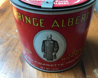 Vintage very clean Prince Albert pipe and cigarette Tobacco