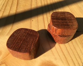 Lacewood Magnets - set of 3