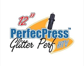 HTV PerfecPress PERF Glitter Sheets, Bling, Silhouette, Cricut