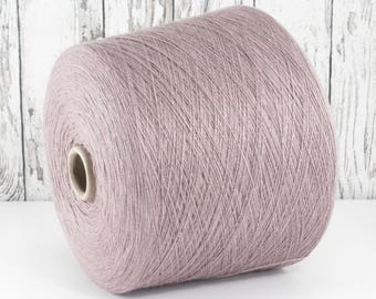 Cashmere/silk (Italy) on cone, pink antique, per 100g: Y001160