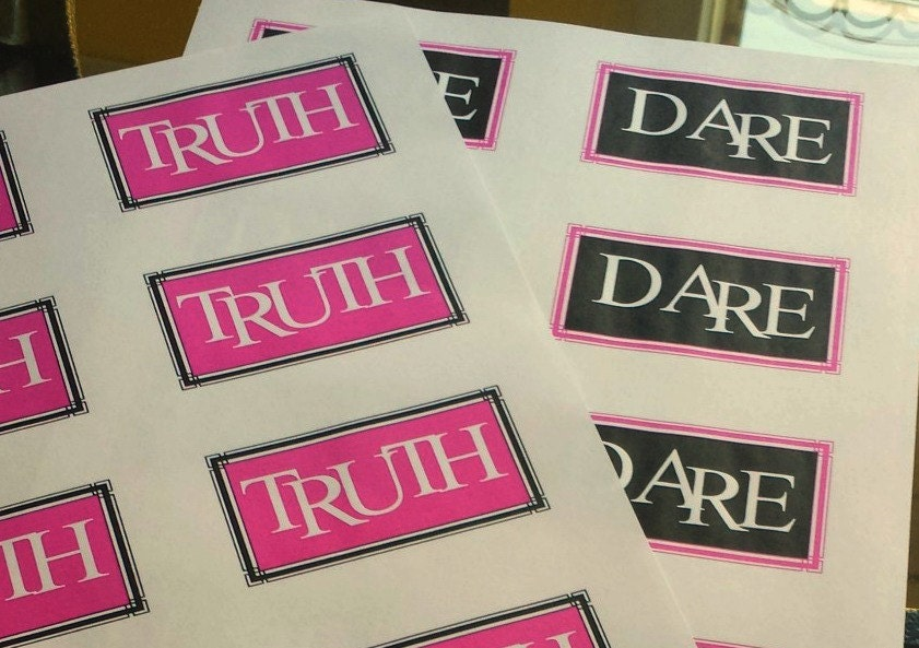 Bedroom Games Sexy Truth Or Dare Game For Couples Etsy