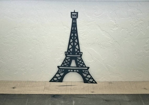 Eiffel Tower Metal Wall Art Paris Decor Eiffel Tower Decor | Etsy