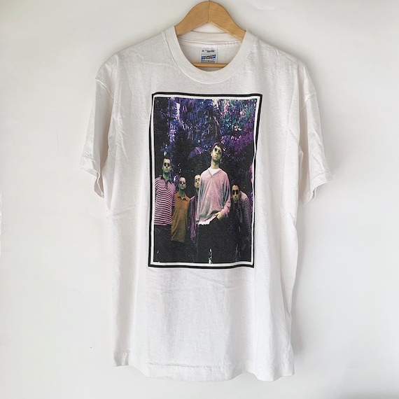 """1997 OASIS """"Be There Now"""" Vintage Promo Band Shirt"""