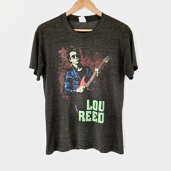 1986 Lou Reed Vintage Tour Band Rock Shirt 80s 198
