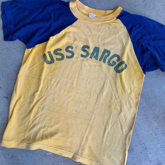1950s USS Sargo US Navy Submarine Military Shirt 5