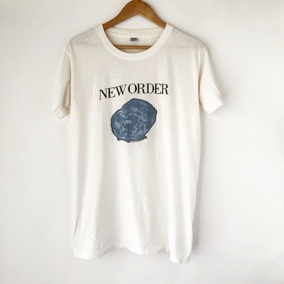 """1987 New Order """"Substance"""" Vintage Tour Band New W"""