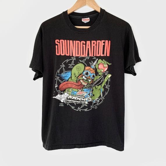 1991 Soundgarden Vintage Tour Band Rock Tee Shirt