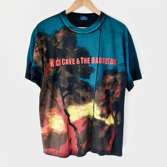 1998 Nick Cave All Over Print Vintage Band Tour Sh