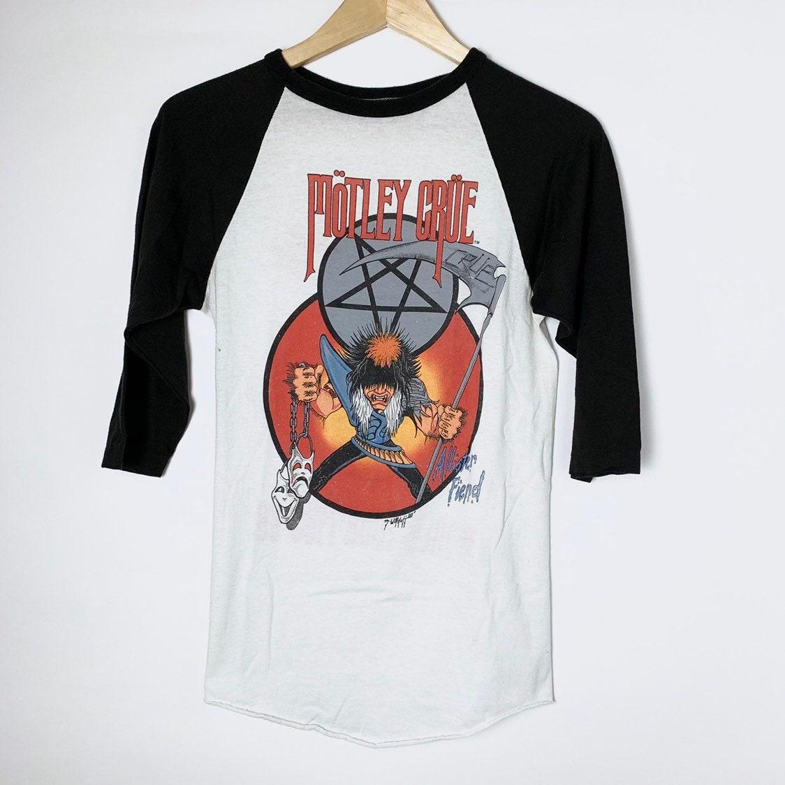 Motley Crue FINAL TOUR VINTAGE T-Shirt NEW 100/% Authentic