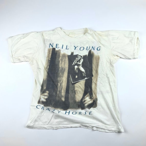 "1987 Neil Young ""Crazy Horse"" Vintage Tour Band Ro"