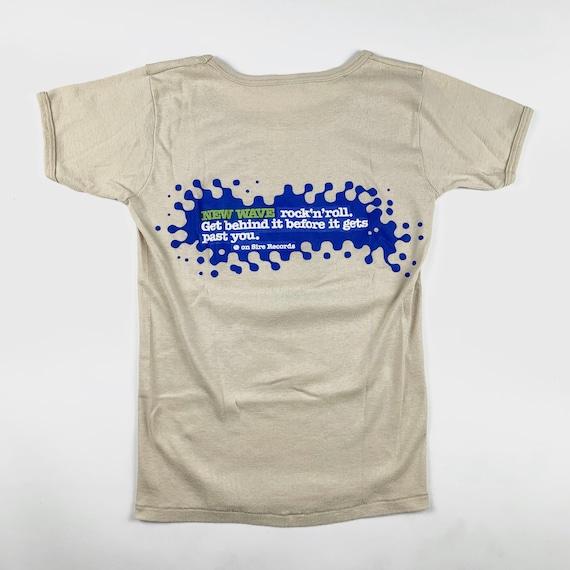 1977 Sire Records New Wave Vintage Shirt 70s Ramo… - image 3