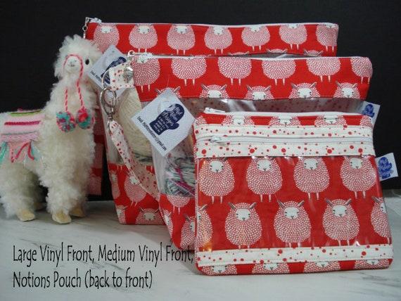 Red Sheep Project Bag Medium