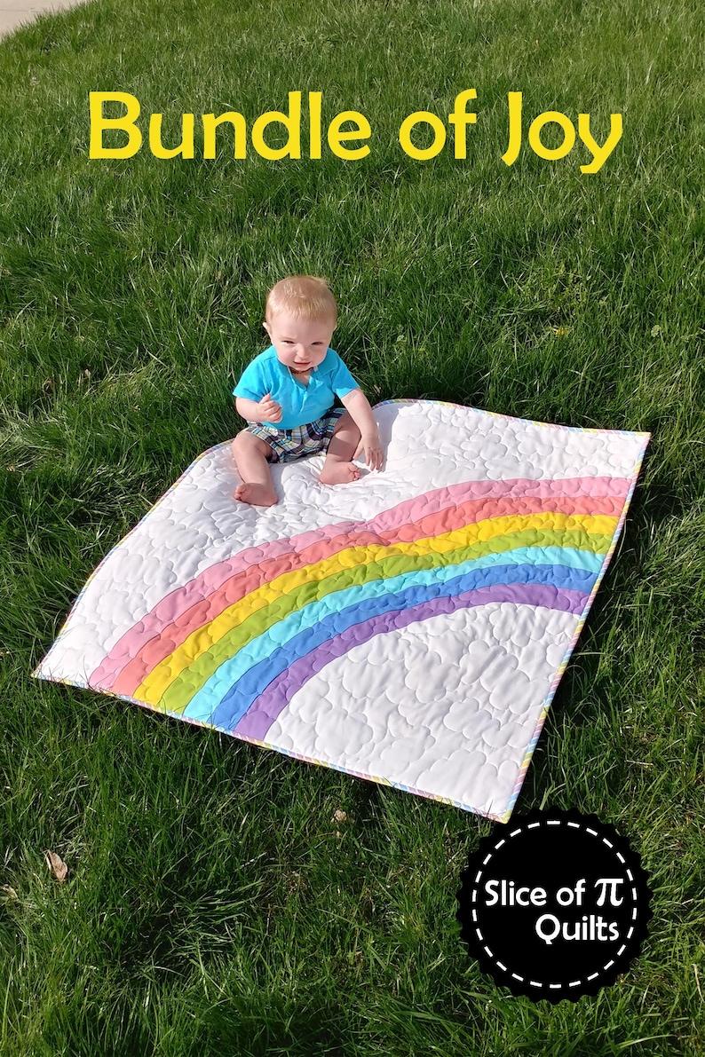 PDF Bundle of Joy Quilt Pattern Digital Download by Slice of image 0
