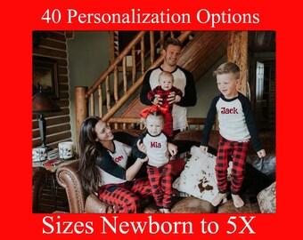 Family Christmas Pajamas Ideas.Christmas Pajamas Etsy