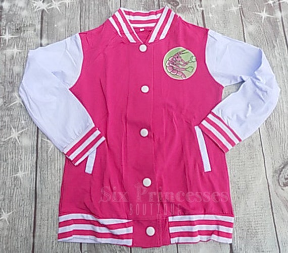 ZOMBIES Disney Movie CHEER JACKET Cheerleading Cheerleader Athletic Style Uniform Costume Shrimp Outfit Addison Snap Seabrook birthday Party