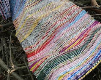 Tappeti In Tessuto Riciclato : Tappeto riciclata etsy