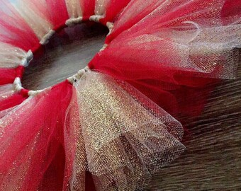Red and Gold Infant/Toddler tutu